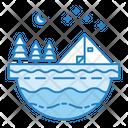 Adventure Camp Summer Icon