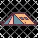 Camp Adventure Tend Icon