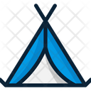 Camp Tent Wigwam Icon
