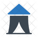 Camp Tent Circus Icon