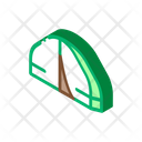 Journey Tourist Backpack Icon