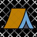 Summer Camp Hut Icon