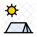 Camp Tent Camping Icon