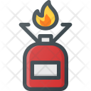 Camp Cooker Gas Icon