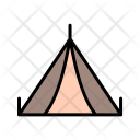 Tent Tipi Camping Icon