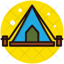 Camp Outdoor Tent Icon