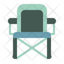 Camp Chair Folding Chair Camping Icon