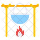 Camp Cooking Outdoor Cooking Campfire Cooking Icon