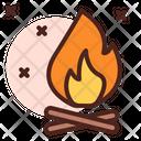 Camp Fire Icon
