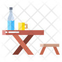 Gtable Table Stool Icon
