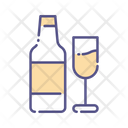 Campagne Wine Bottle Alcohol Icon