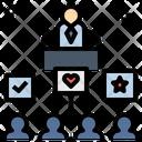 Campaign Policy Announce Icon