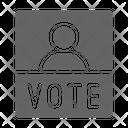 Campaign Vote Politic Icon