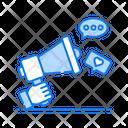 Campaign Social Marketing Digital Marketing Icon