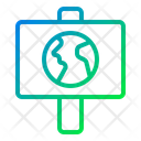 Campaign Promotion Earth Icon