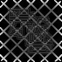 Linear Icon Campaign Icon
