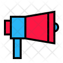 Campaign Speaker Promotion Icon