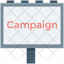 Campaign Billboard Advertising Icon