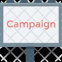 Campaign Billboard Advertising Icon