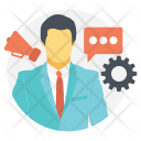 Campaign Management System Icon