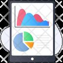 Mobile Analytics Campaign Stats Online Analytics Icon