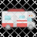 Camper Transport Van Icon