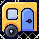 Camper Caravan Travel Icon