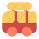 Camper Summer Tropical Icon