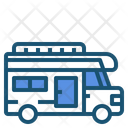 Camper Camping Car Icon