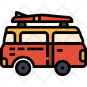 Van Camper Van Vehicle Icon