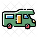Camper Van Travel Rv Icon