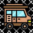 Camper Van Travel Icon