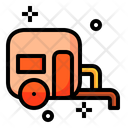 Caravan Transport Travel Icon
