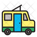 Camper Van Travel Icon