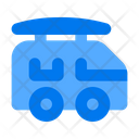 Vehicle Camper Van Car Icon