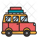Camper Van Caravan Transport Icon
