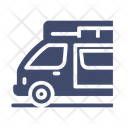 Campervan Camping Adventure Icon