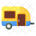 Campervan Caravan Transport Icon