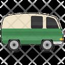 Campervan Camping Car Transport Icon