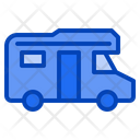 Camper Van Caravan Icon