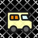 Campervan Trailer Recreational Icon