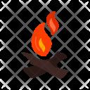 Campfire Bonfire Icon
