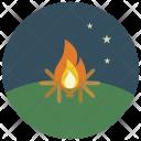 Camp Fire Campfire Icon