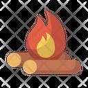 Bonfire Camp Campfire Icon