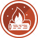 Campfire Camping Fire Icon