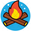 Fire Woods Fireplace Icon
