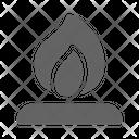 Campfire Bonfire Camp Icon