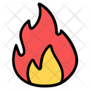 Campfire Bonfire Combustion Icon