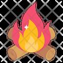 Campfire Bonfire Combustion Icon