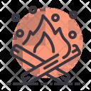 Campfire Bonfire Fire Icon